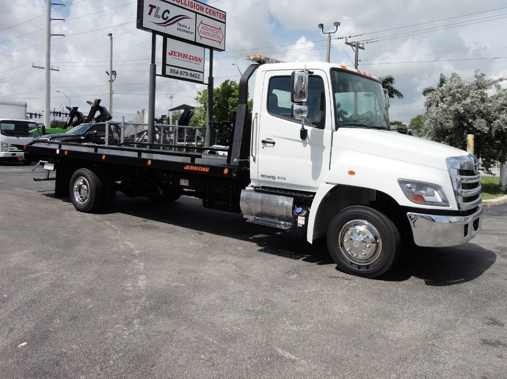 2019 HINO 258LP 21FT X 96 WIDE JERRDAN ROLLBACK..HYD BRAKE.SPRING RIDE - 17687180 - 11