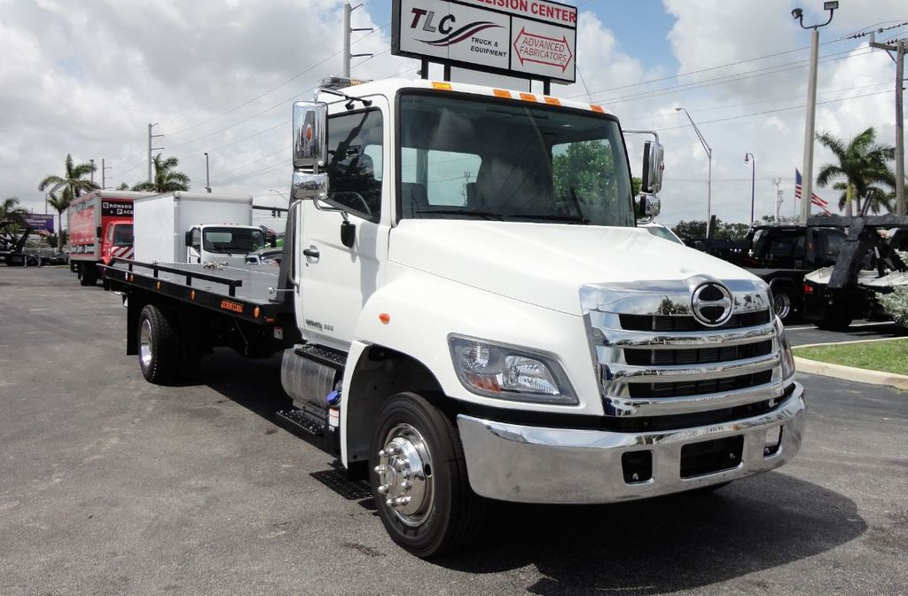 2019 HINO 258LP 21FT X 96 WIDE JERRDAN ROLLBACK..HYD BRAKE.SPRING RIDE - 17687180 - 12