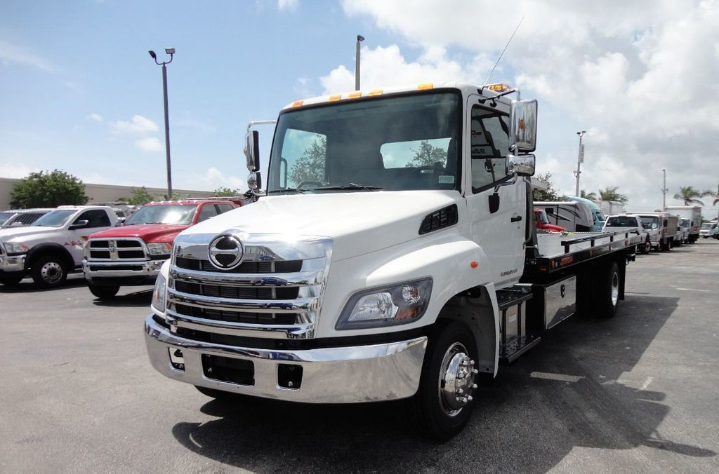 2019 HINO 258LP 21FT X 96 WIDE JERRDAN ROLLBACK..HYD BRAKE.SPRING RIDE - 17687180 - 1