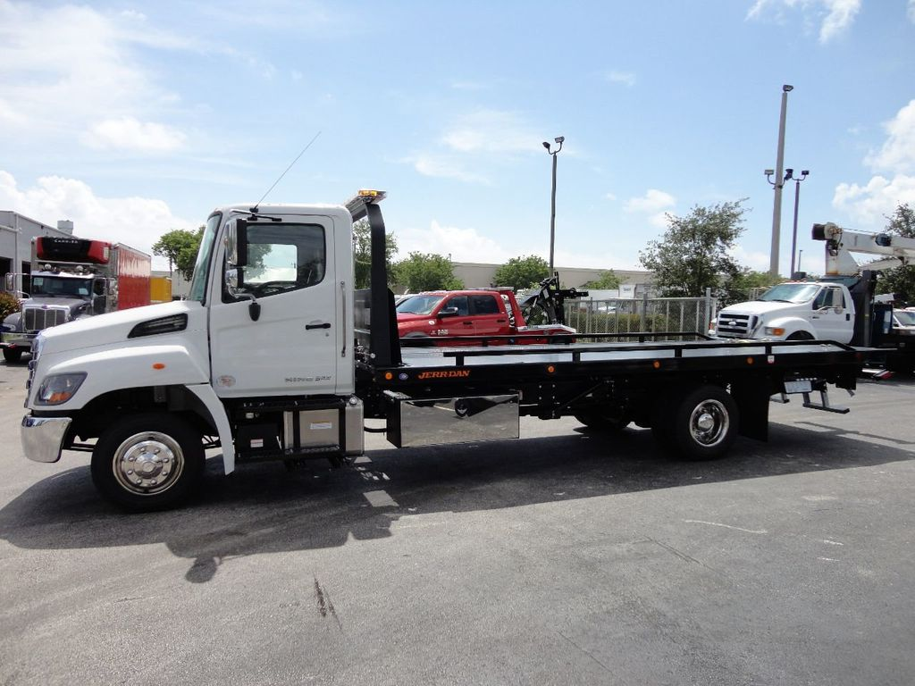 2019 HINO 258LP 21FT X 96 WIDE JERRDAN ROLLBACK..HYD BRAKE.SPRING RIDE - 17687180 - 2