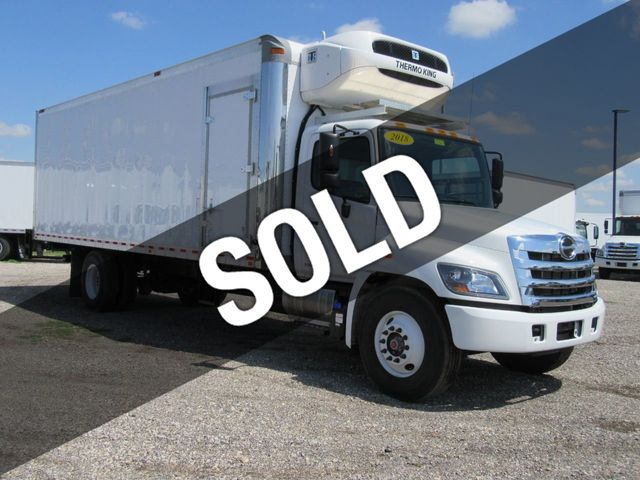 2019 New HINO 338 De-Rated/Non-CDL (26ft Reefer Truck with