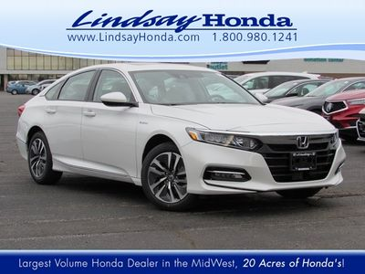 New 2019 Honda Accord Hybrid EX Sedan