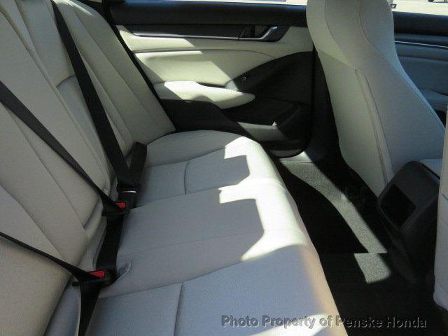 2019 Honda Accord Sedan LX 1.5T CVT - 18318435 - 15