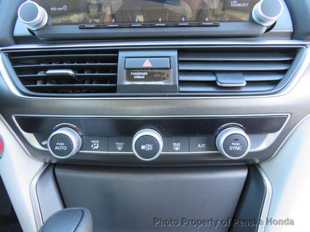 2019 Honda Accord Sedan LX 1.5T CVT - 18318435 - 26