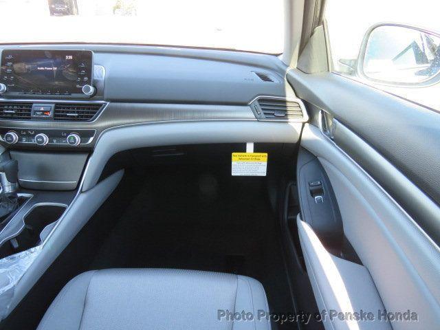 2019 Honda Accord Sedan LX 1.5T CVT - 18380865 - 16