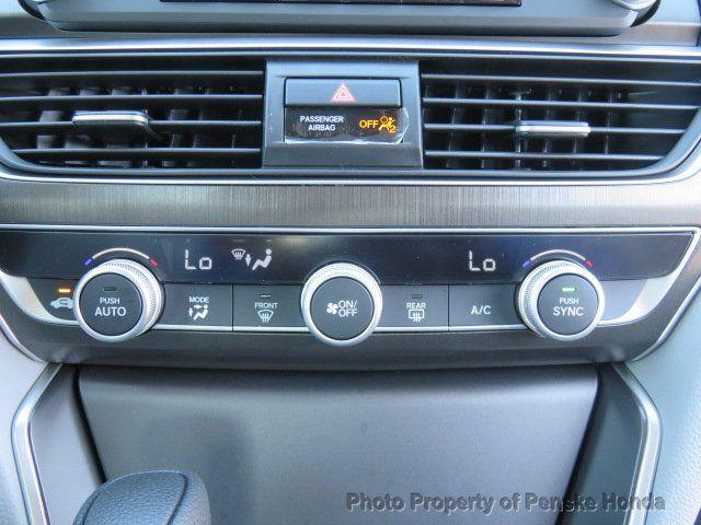 2019 Honda Accord Sedan LX 1.5T CVT - 18380865 - 25
