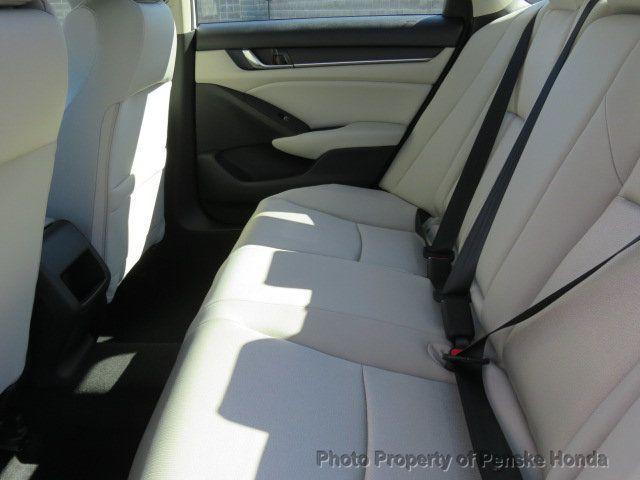 2019 Honda Accord Sedan LX 1.5T CVT - 18503786 - 12