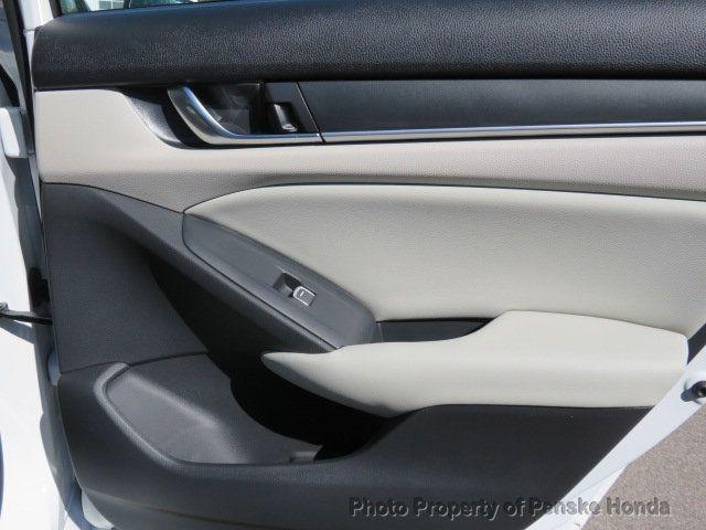 2019 Honda Accord Sedan LX 1.5T CVT - 18503786 - 14