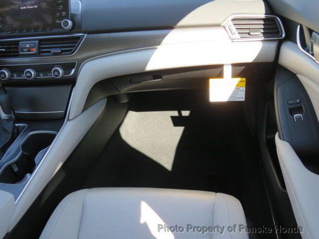 2019 Honda Accord Sedan LX 1.5T CVT - 18503786 - 16