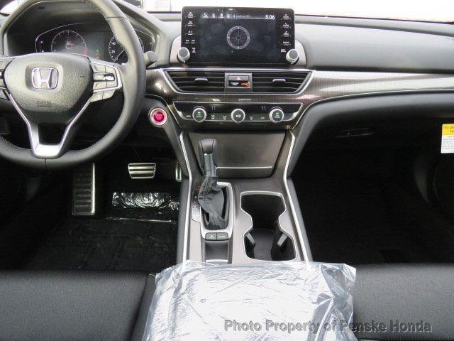 2019 Honda Accord Sedan Sport 1.5T CVT - 18380866 - 17