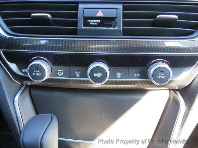 2019 Honda Accord Sedan Sport 1.5T CVT - 18389281 - 26