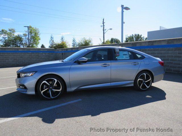 2019 Honda Accord Sedan Sport 1.5T CVT - 18389281 - 2