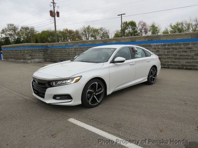 2019 Honda Accord Sedan Sport 1.5T CVT - 18430607 - 1