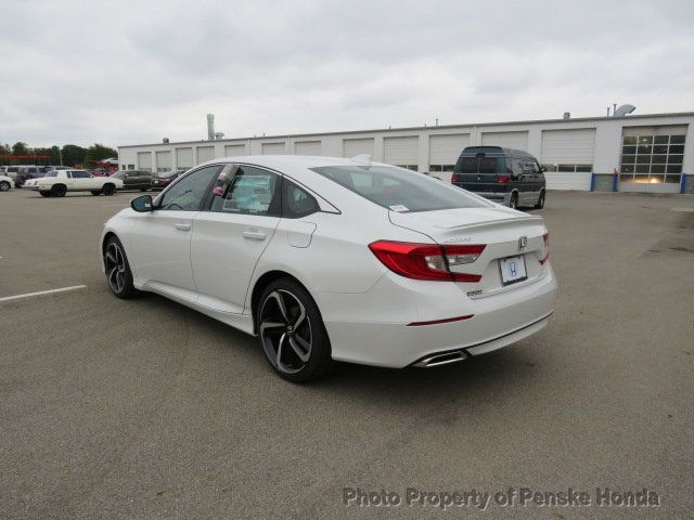 2019 Honda Accord Sedan Sport 1.5T CVT - 18430607 - 3