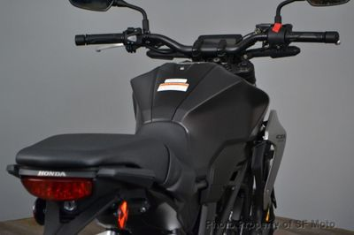 2019 Honda CB300R Red in stock! - Click to see full-size photo viewer