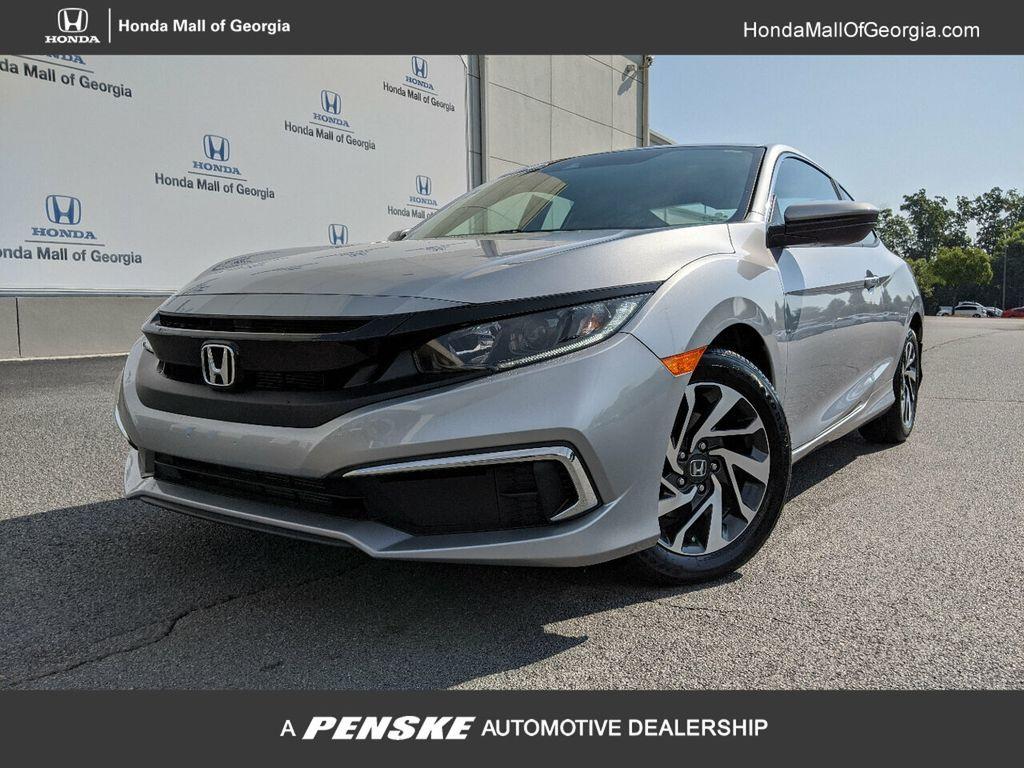 2019 Honda Civic Coupe LX CVT - 18504166 - 0
