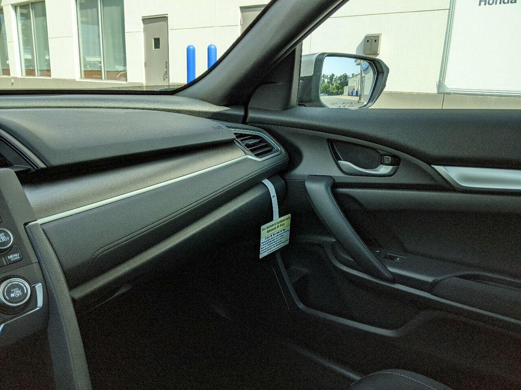 2019 Honda Civic Coupe LX CVT - 18504166 - 14