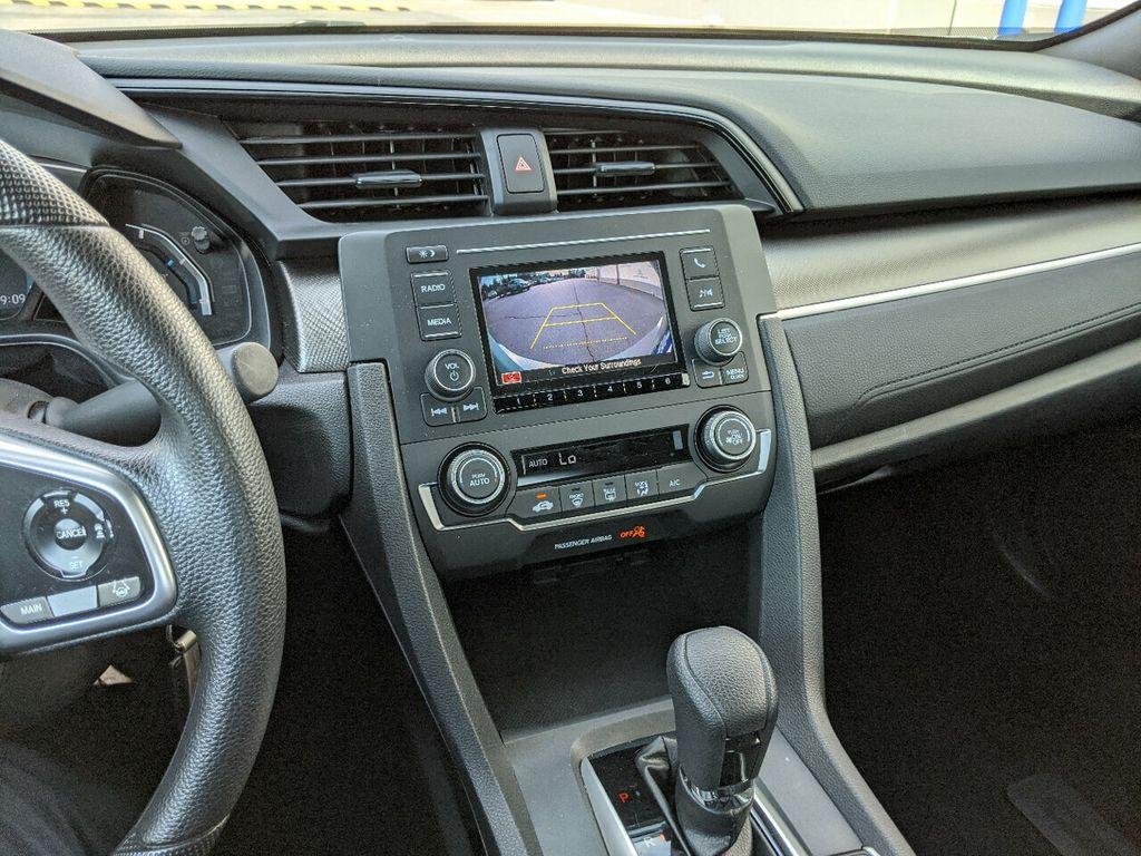 2019 Honda Civic Coupe LX CVT - 18504166 - 16