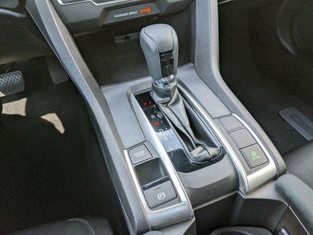 2019 Honda Civic Coupe LX CVT - 18504166 - 17