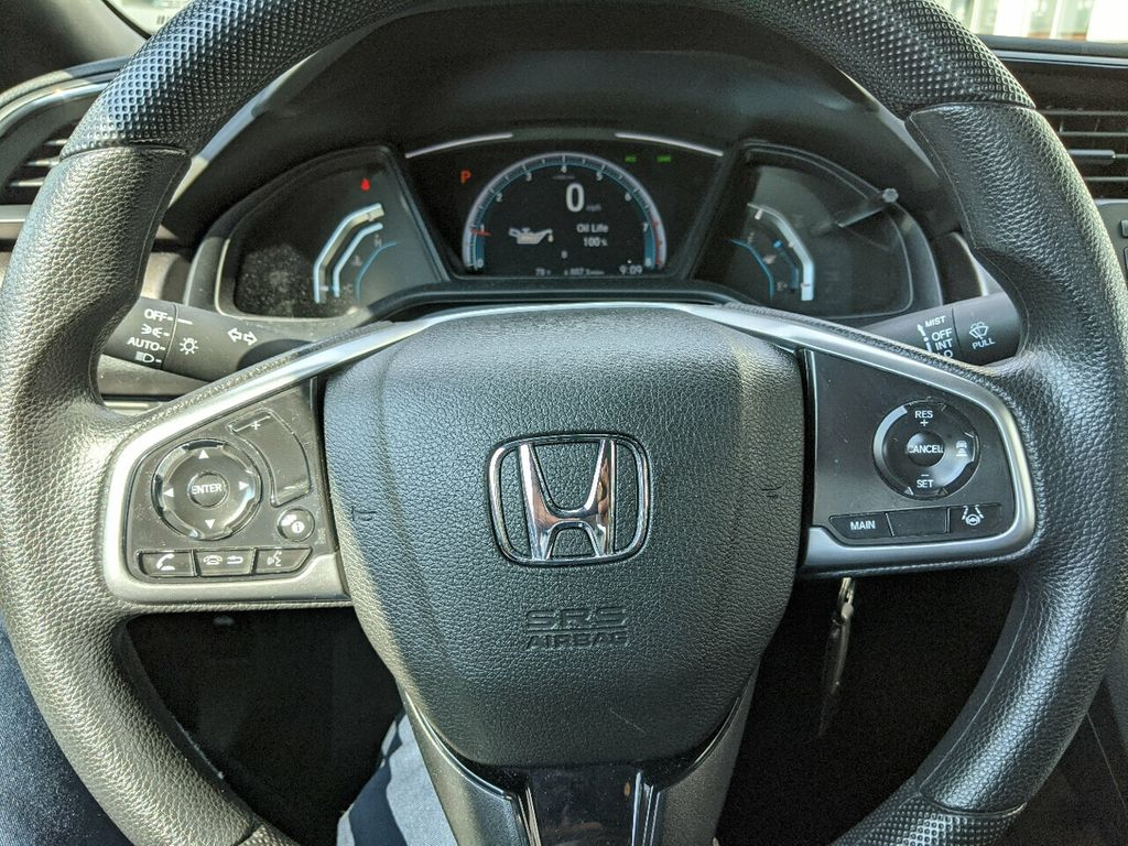 2019 Honda Civic Coupe LX CVT - 18504166 - 19