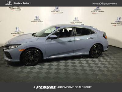 New 2019 Honda Civic Hatchback EX CVT Sedan