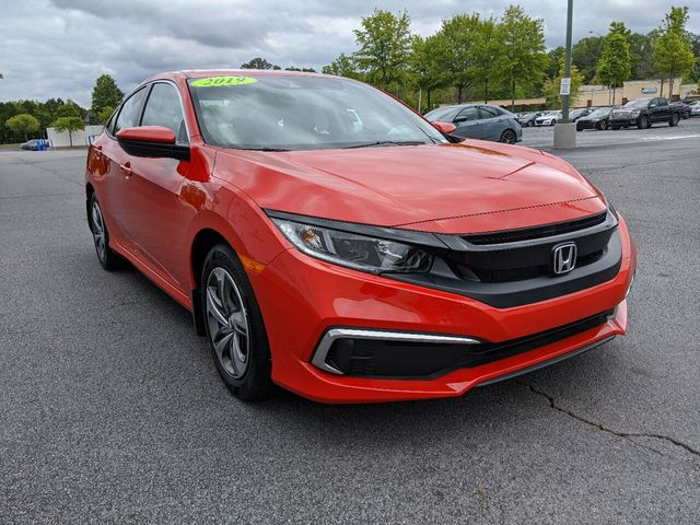 2019 Honda Civic Sedan LX CVT - 18470134 - 10