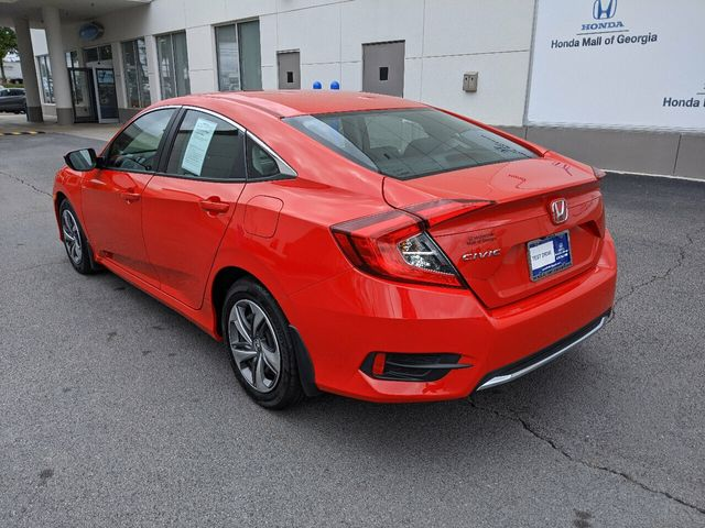 2019 Honda Civic Sedan LX CVT - 18470134 - 6