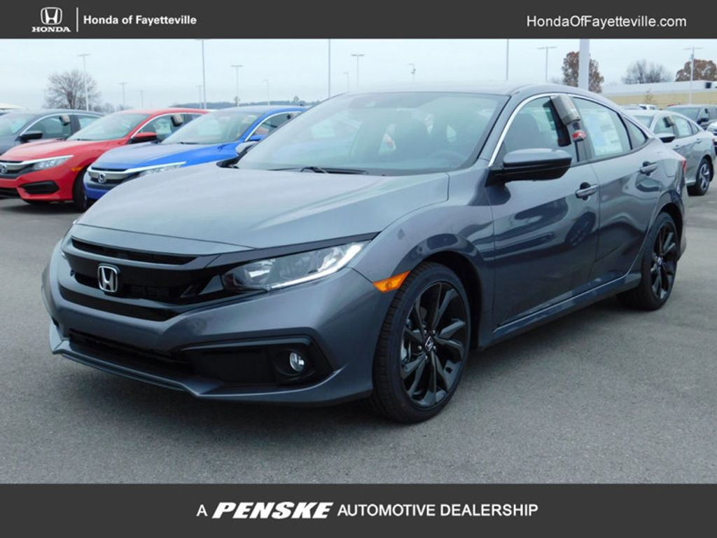 2019 Honda Civic Sedan Sport Manual - 18333876 - 0