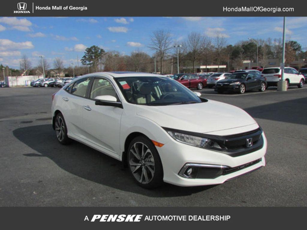 2019 Honda Civic Sedan Touring CVT - 18780253 - 0
