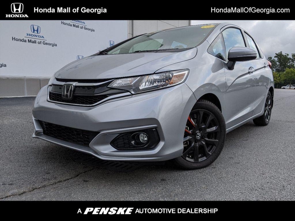 Honda Fit Ex >> 2019 New Honda Fit Ex Cvt At Honda Mall Of Georgia Serving Atlanta Gwinnett Buford Ga Iid 18837400