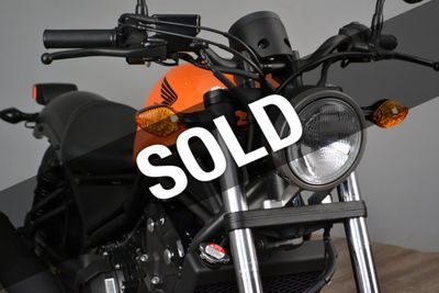 New 2019 Honda Rebel 500 ABS In Stock Now!!!