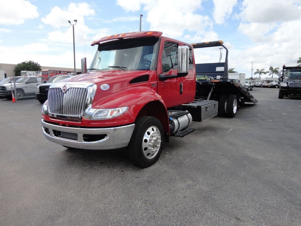 2019 International 4300 22FT JERRDAN ROLLBACK TOW TRUCK..SHARK 22SRRD6T-W-LP - 17935137 - 4