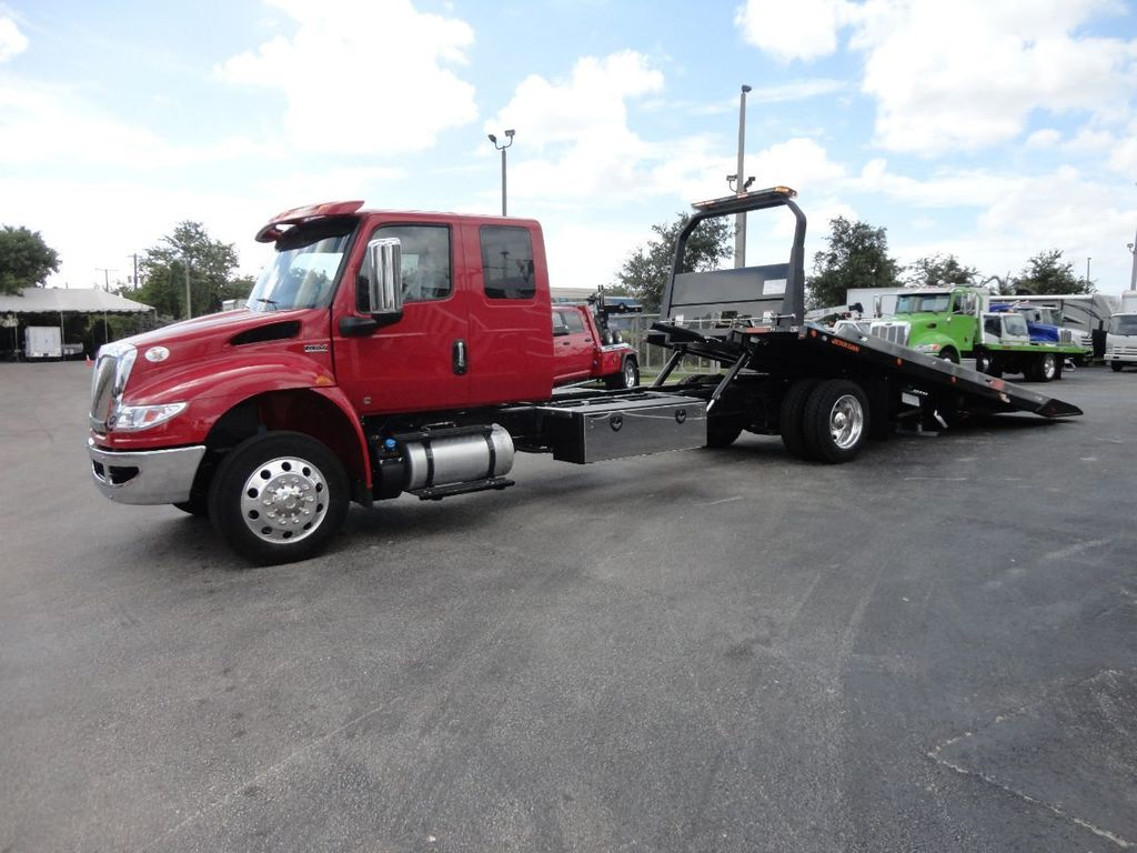 2019 International 4300 22FT JERRDAN ROLLBACK TOW TRUCK..SHARK 22SRRD6T-W-LP - 17935137 - 5