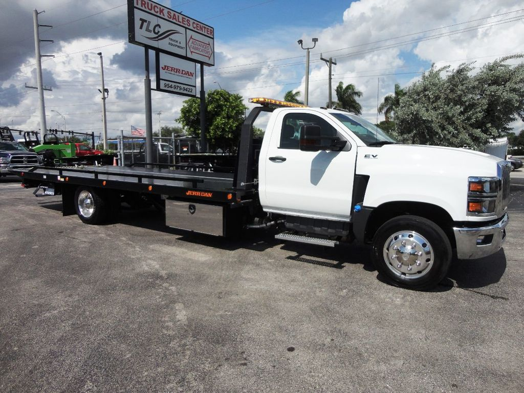 2019 International CV515 22FT JERRDAN ROLLBACK TOW TRUCK..102IN WIDE..AIR RIDE.. - 19128934 - 0