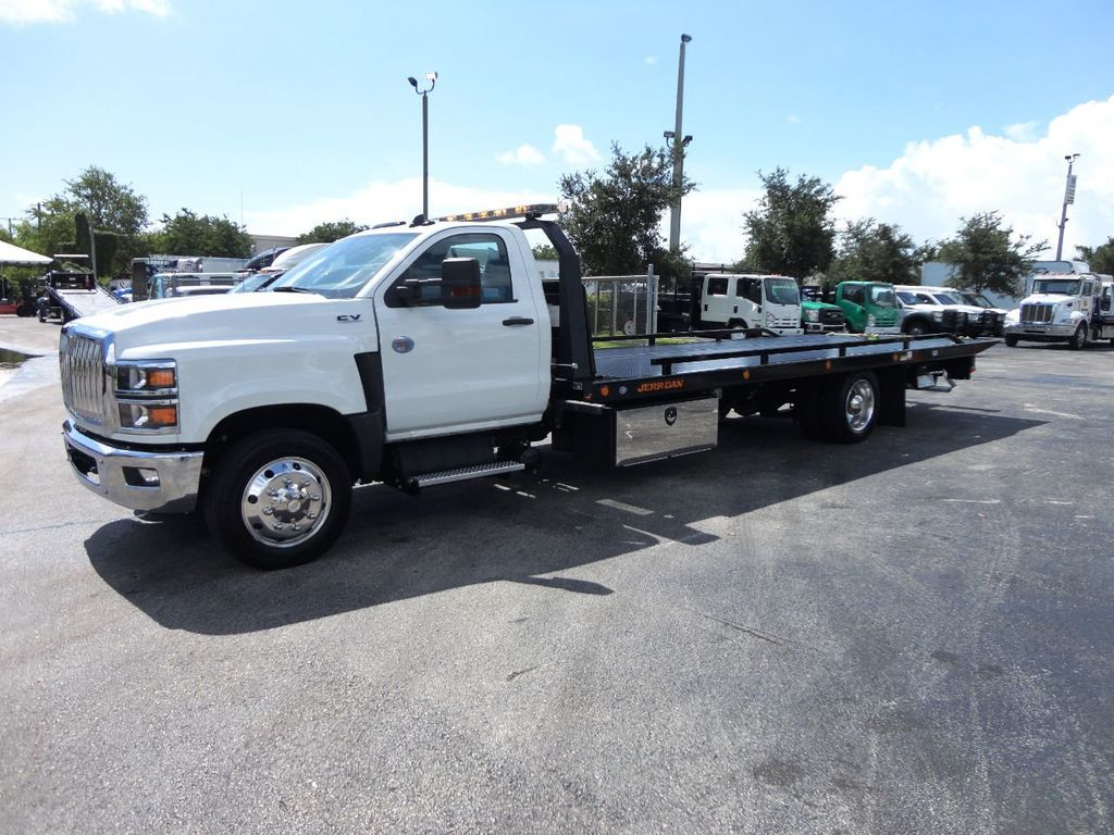 2019 International CV515 22FT JERRDAN ROLLBACK TOW TRUCK..102IN WIDE..AIR RIDE.. - 19128934 - 9