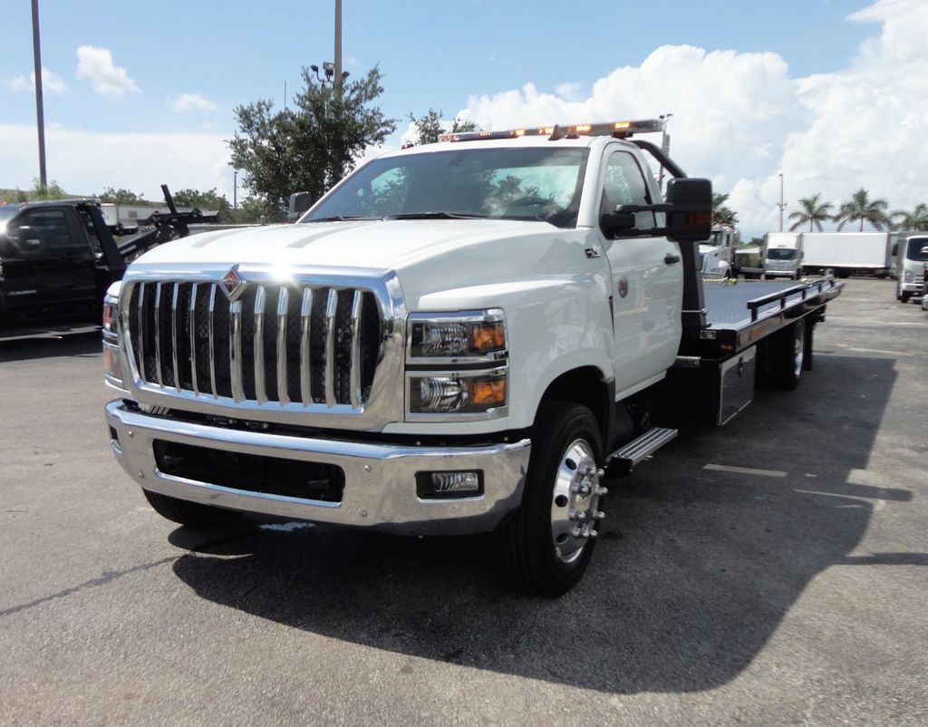 2019 International CV515 22FT JERRDAN ROLLBACK TOW TRUCK..102IN WIDE..AIR RIDE.. - 19128934 - 10