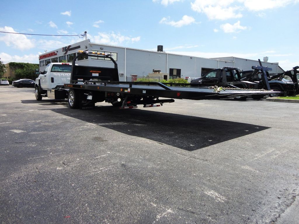 2019 International CV515 22FT JERRDAN ROLLBACK TOW TRUCK..102IN WIDE..AIR RIDE.. - 19128934 - 12
