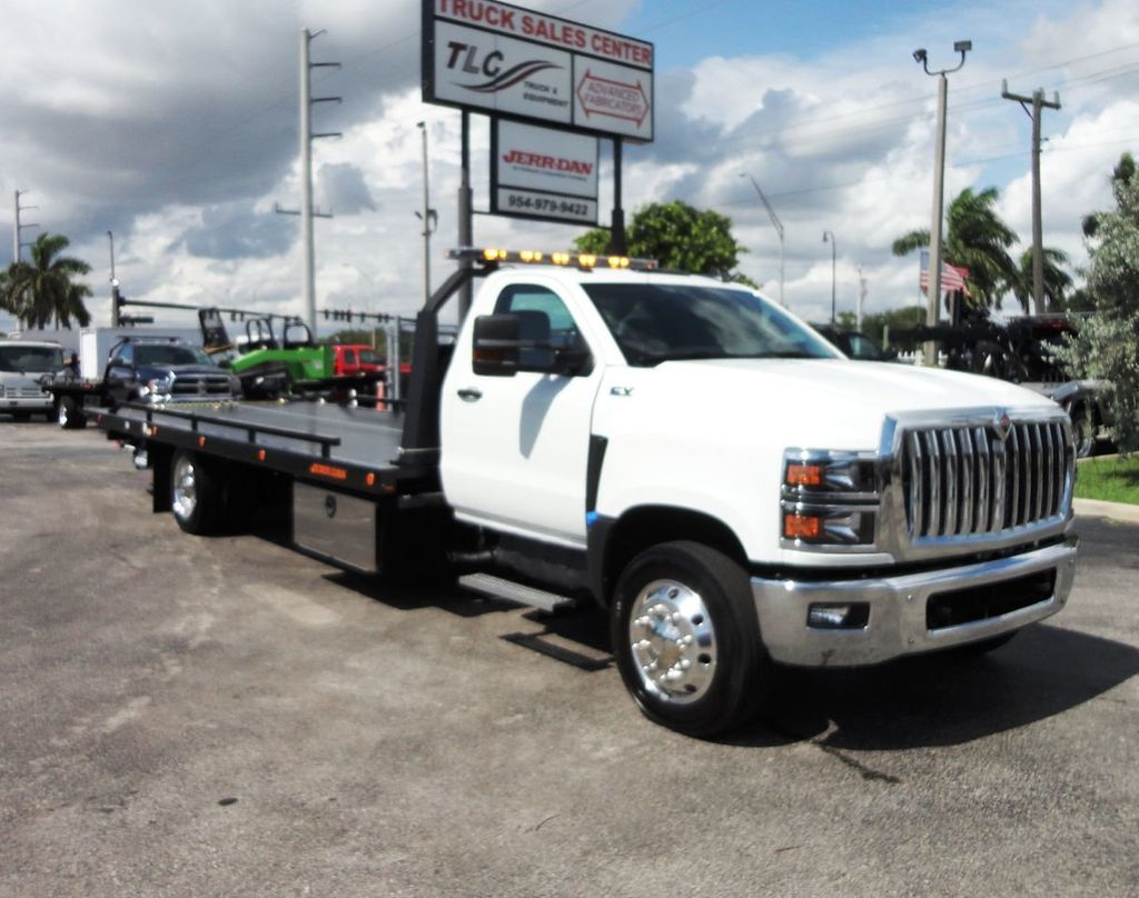 2019 International CV515 22FT JERRDAN ROLLBACK TOW TRUCK..102IN WIDE..AIR RIDE.. - 19128934 - 1