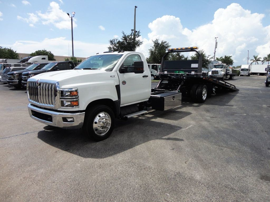 2019 International CV515 22FT JERRDAN ROLLBACK TOW TRUCK..102IN WIDE..AIR RIDE.. - 19128934 - 36