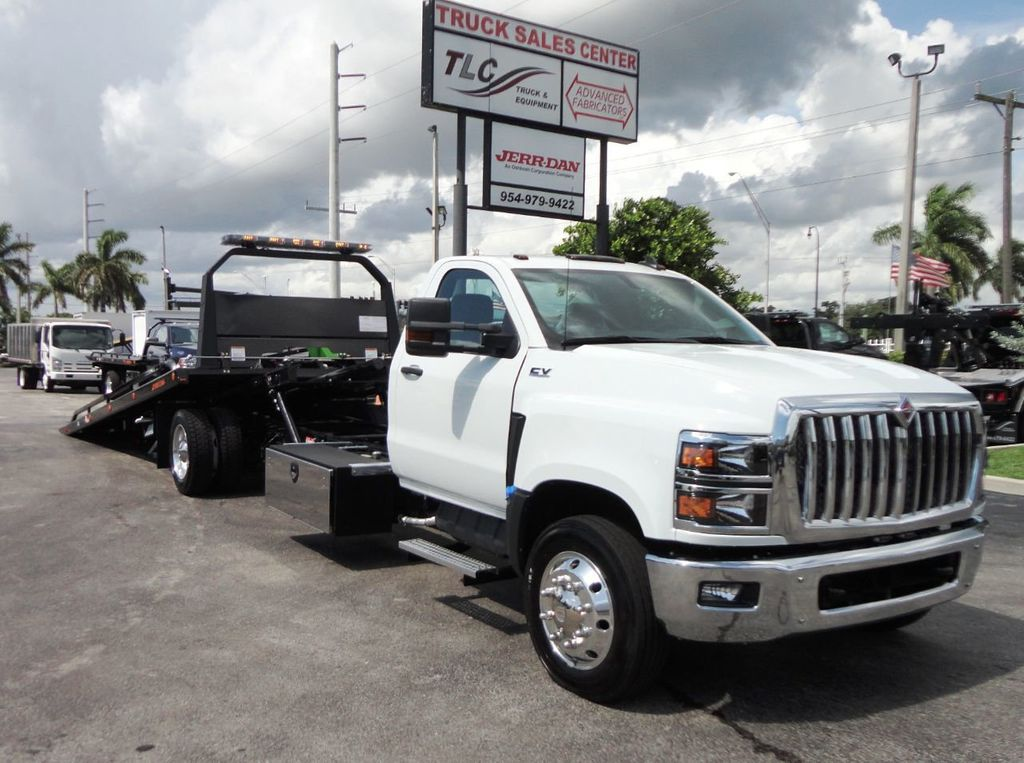 2019 International CV515 22FT JERRDAN ROLLBACK TOW TRUCK..102IN WIDE..AIR RIDE.. - 19128934 - 37