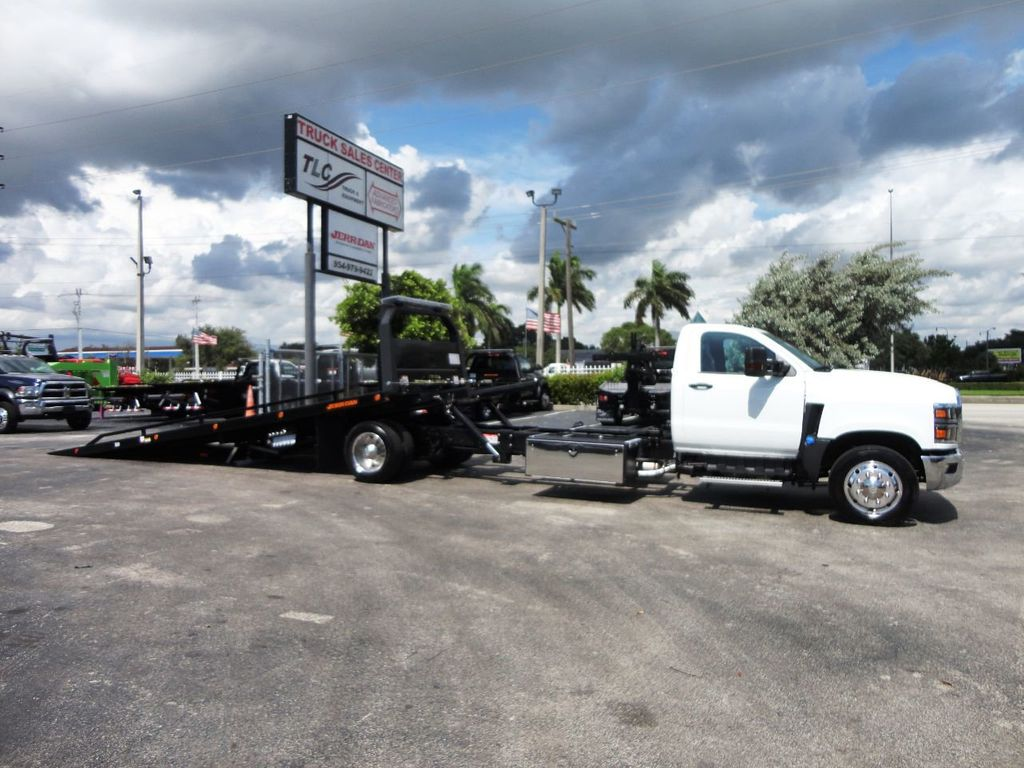 2019 International CV515 22FT JERRDAN ROLLBACK TOW TRUCK..102IN WIDE..AIR RIDE.. - 19128934 - 38