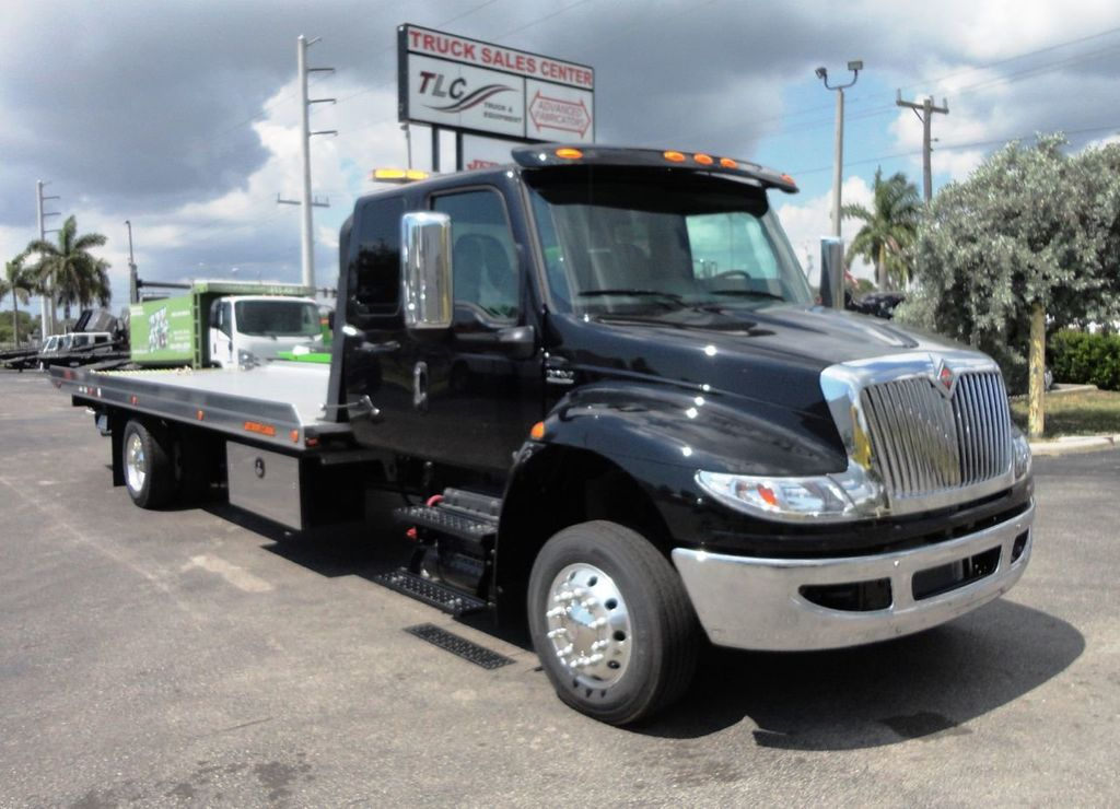 2019 International MV607 22FT JERRDAN ROLLBACK TOW TRUCK..22NGAF6T-W-LP - 19003210 - 0