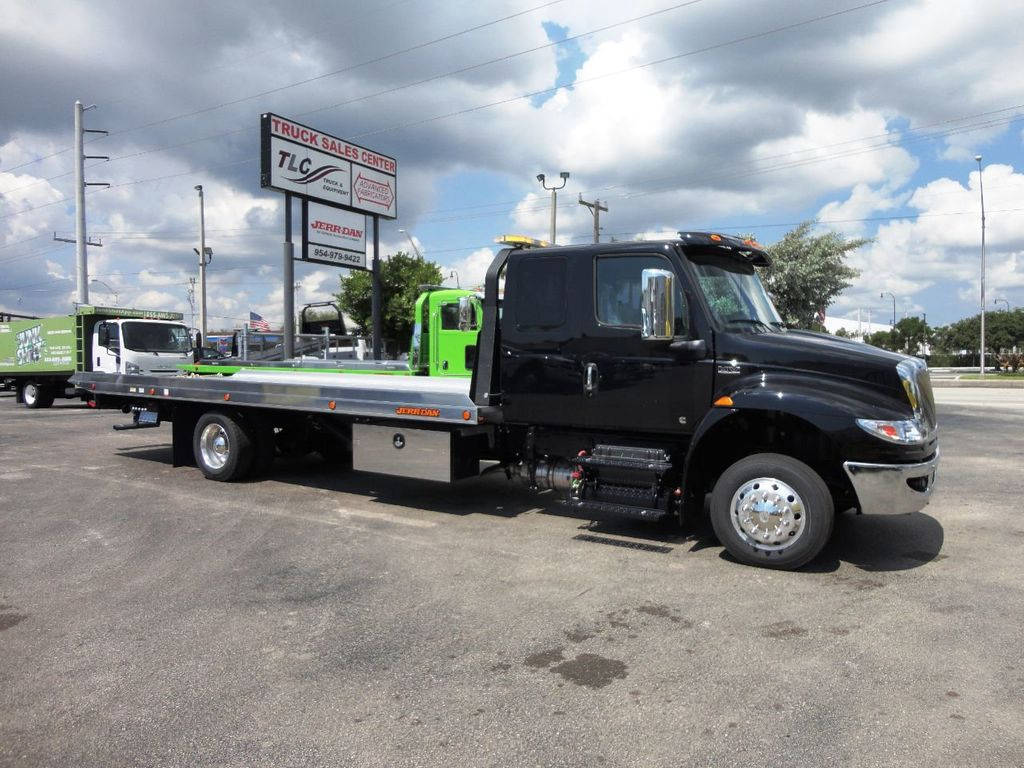 2019 International MV607 22FT JERRDAN ROLLBACK TOW TRUCK..22NGAF6T-W-LP - 19003210 - 1
