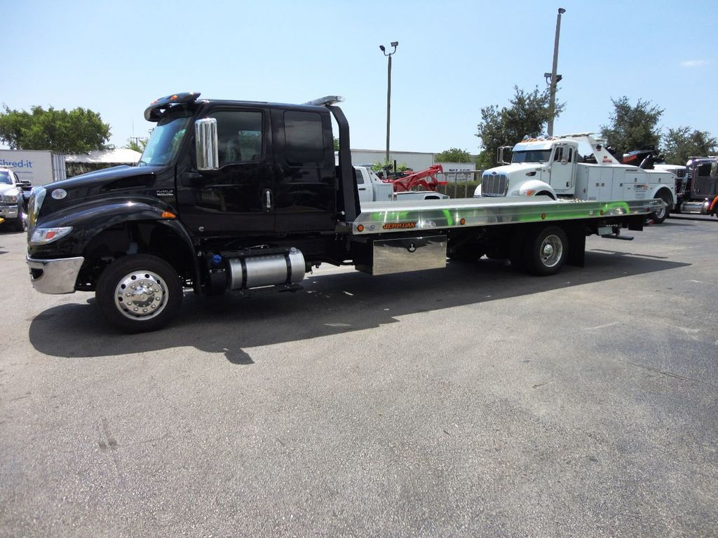 2019 International MV607 22FT JERRDAN ROLLBACK TOW TRUCK..22NGAF6T-W-LP - 19003210 - 4