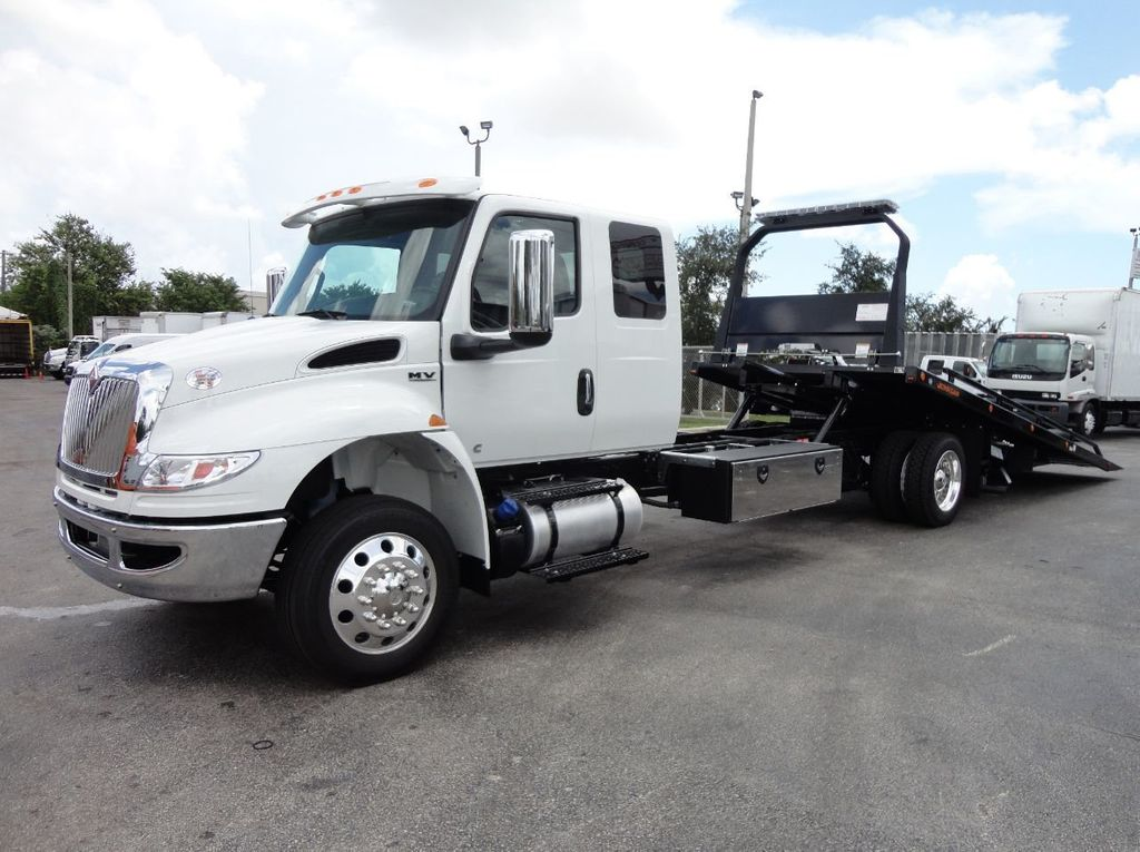 2019 International MV607 22FT JERRDAN ROLLBACK TOW TRUCK..22SRR6T-W-LP - 18008877 - 0