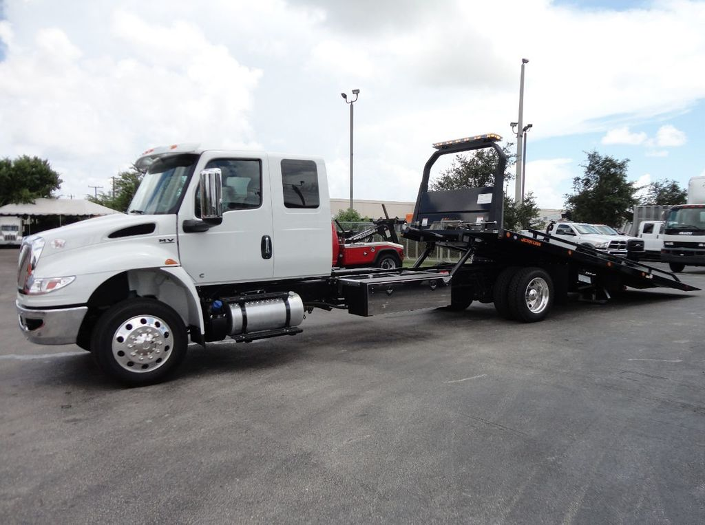 2019 International MV607 22FT JERRDAN ROLLBACK TOW TRUCK..22SRR6T-W-LP - 18008877 - 1