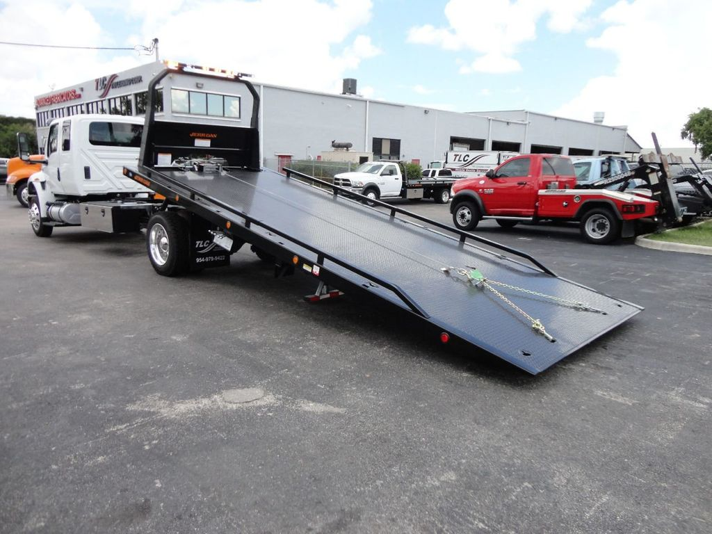 2019 International MV607 22FT JERRDAN ROLLBACK TOW TRUCK..22SRR6T-W-LP - 18008877 - 3