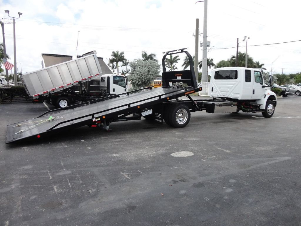 2019 International MV607 22FT JERRDAN ROLLBACK TOW TRUCK..22SRR6T-W-LP - 18008877 - 8