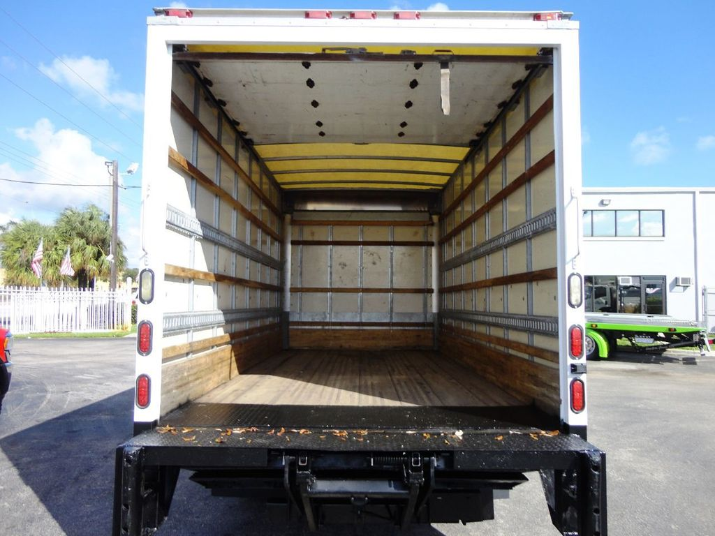 2019 Isuzu NPR HD 16FT DRY BOX.TUCK UNDER LIFTGATE BOX TRUCK CARGO TRUCK - 19500745 - 16