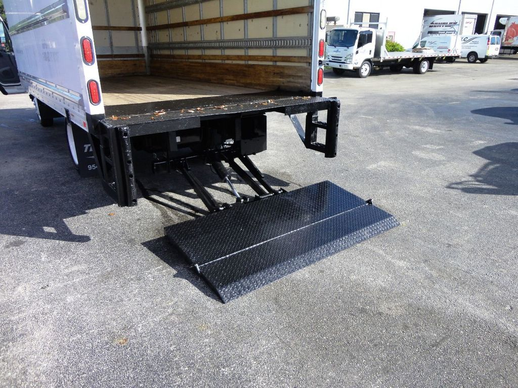 2019 Isuzu NPR HD 16FT DRY BOX.TUCK UNDER LIFTGATE BOX TRUCK CARGO TRUCK - 19500745 - 19